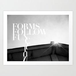 from follow fun Art Print
