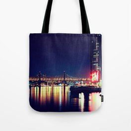 When Light and Dark Collides Tote Bag