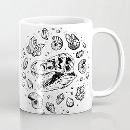 Geo-rex Vortex   Black Coffee Mug