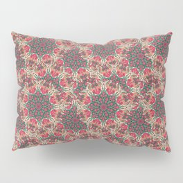 Seamless abstract colorful ornamental psychedelic decorative pattern Pillow Sham