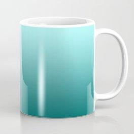 Quetzal Green Ombre Gradient Pattern Coffee Mug