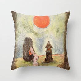 Me and You Throw Pillow