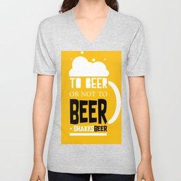 Beer Pun Unisex V-Neck