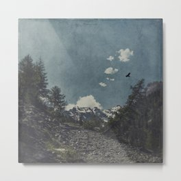 Hike a Mountain! Metal Print