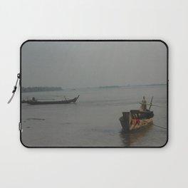 Cambodian Island Transport Laptop Sleeve