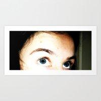 eye can see you Art Print
