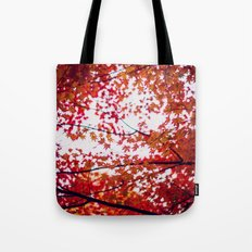 up in the trees you'll find peace Tote Bag