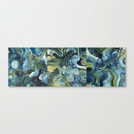 Mindmap I-III Canvas Print