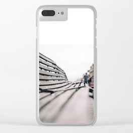 Windsor castle benches. Clear iPhone Case