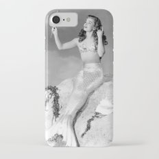 Vintage Mermaid : Mr Peabody & The Mermaid iPhone 7 Slim Case