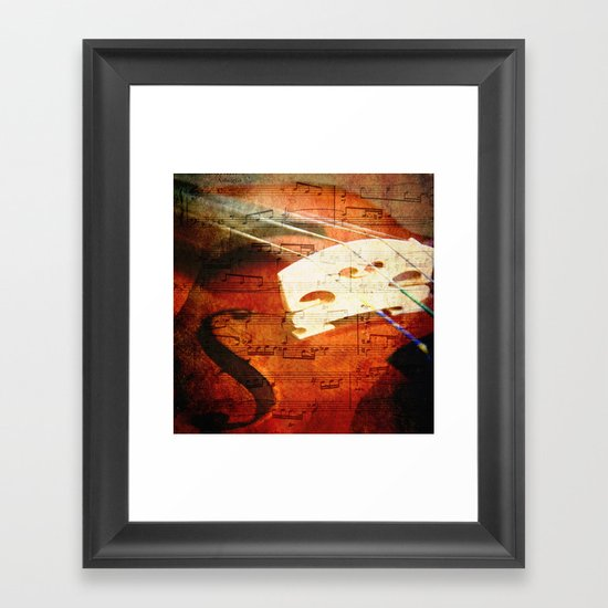 Suite Music Framed Art Print