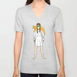 Holly and Cat Unisex V-Neck