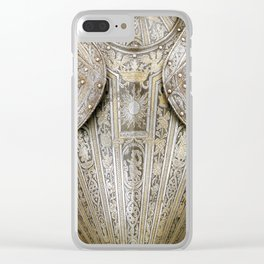 Rubino Outer Armor Gold Silver Clear iPhone Case
