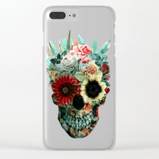Skull Still Life IV Clear iPhone Case