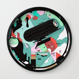 VKVKVKVK Wall Clock