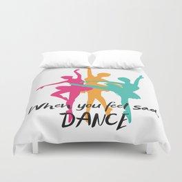 Dancer , ballet , ballerina , Duvet Cover