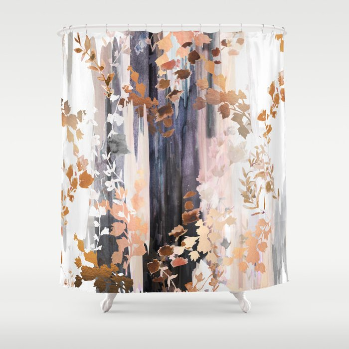 Autumn Leaves Shower Curtain By Nikkistrange