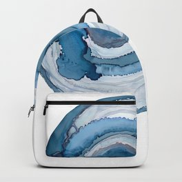 Blue Agate Painting Backpack