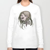 gore Long Sleeve T-shirts featuring Gore Girl by Savannah Horrocks
