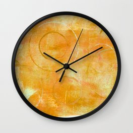 Will it Go Round in Circles, Abstract Art Painting Wall Clock