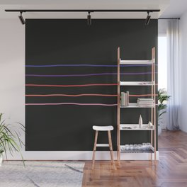 Abstract Retro Stripes #4 Wall Mural