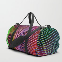 lines and patterns 4 Duffle Bag