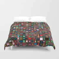 mosaic Duvet Covers featuring Mosaic by Lyle Hatch