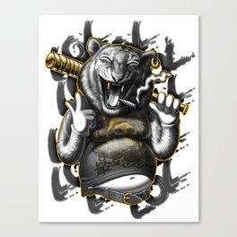 Gang member 3 Canvas Print