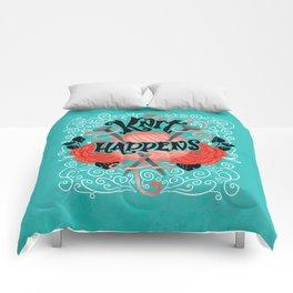 Knit Happens Comforters