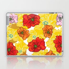 marzipan flowers Laptop & iPad Skin