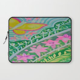 Yellow Butterfly Laptop Sleeve