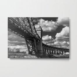 Hellgate Bridge Metal Print