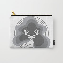 Christmas Deer for Holidays Carry-All Pouch