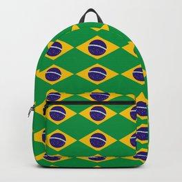 flag of brazil 2-Brazil, flag, flag of brazil, brazilian, bresil, bresilien, Brasil, Rio, Sao Paulo Backpack