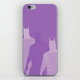 The Bat Purple Fading Away iPhone Skin