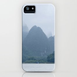 Misty Mountains of Guilin China iPhone Case