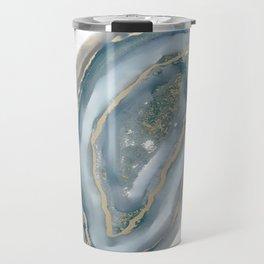 geode art, geode agate, agate art, contemporary art, abstract geode, abstract art, cabin art, cabin Travel Mug
