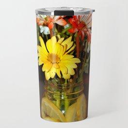 Lemon Water For Flowers Travel Mug