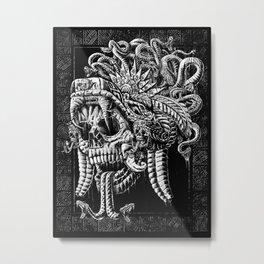Serpent Warrior Metal Print