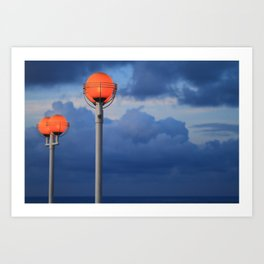 Opposite, but Perfect Art Print