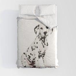 Cute Dalmatian 3 Comforters
