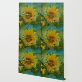 Sunflower Solar System Wallpaper