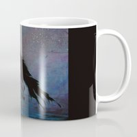 raven Mugs featuring Raven by Christine's heART