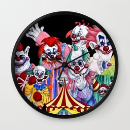 Killer Klowns From Outer Space Wall Clock
