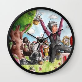 Happy Easter with Provolino Wall Clock