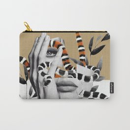 Woman and snakes Carry-All Pouch