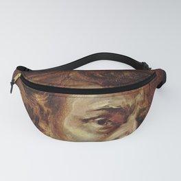 Eugene Delacroix- Portrait of Chopin Fanny Pack