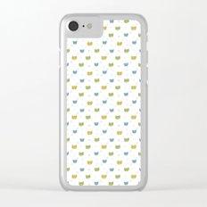 Cute Cats Clear iPhone Case