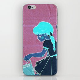 Mary Mary Quite Contrary iPhone Skin