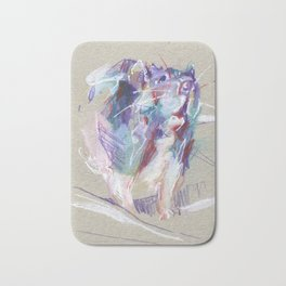Purple rat Bath Mat